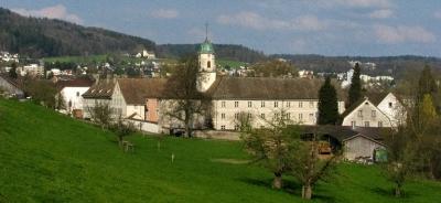 Kloster Fahr aus anderer Perspektive