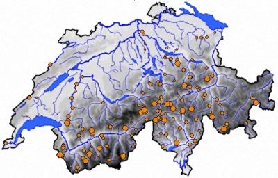 Talsperren in der Schweiz